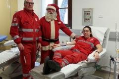 Babbo Natale dona il sangue
