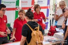 I colori di Croce Rossa nelle piazze di Padova