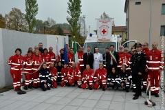 Inaugurazione ambulanza Noventa Padovana