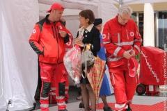 Villaggio di Croce Rossa - Inaugurazione