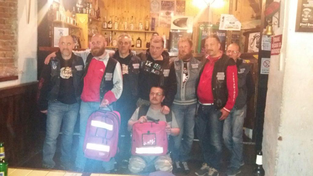 Donazione_zaino_motoclub_Carmignano_di_Brenta